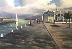 Courseulles-sur-Mer, 55 x 38 cm