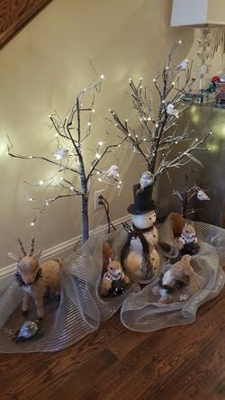 Professional Christmas decorators