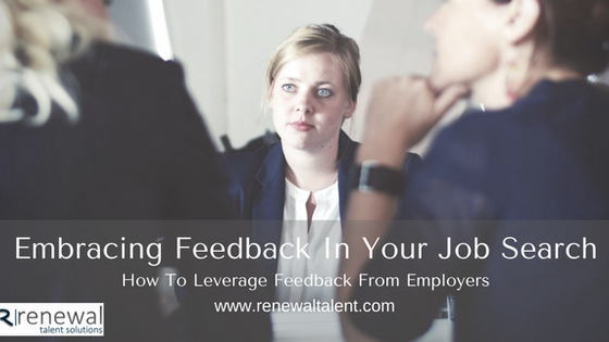 Job Candidates - Don't Wast The Feedback!