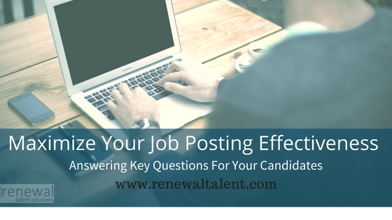 5 Questions Your Job Post Should Answer