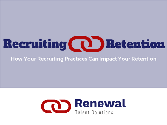 Links Between Recruiting and Retention