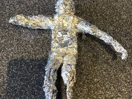 Year 6 have been busy creating sculptures for their Art unit - People in Action!