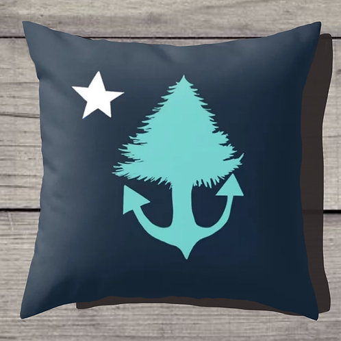 Another Maine Flag Pillow