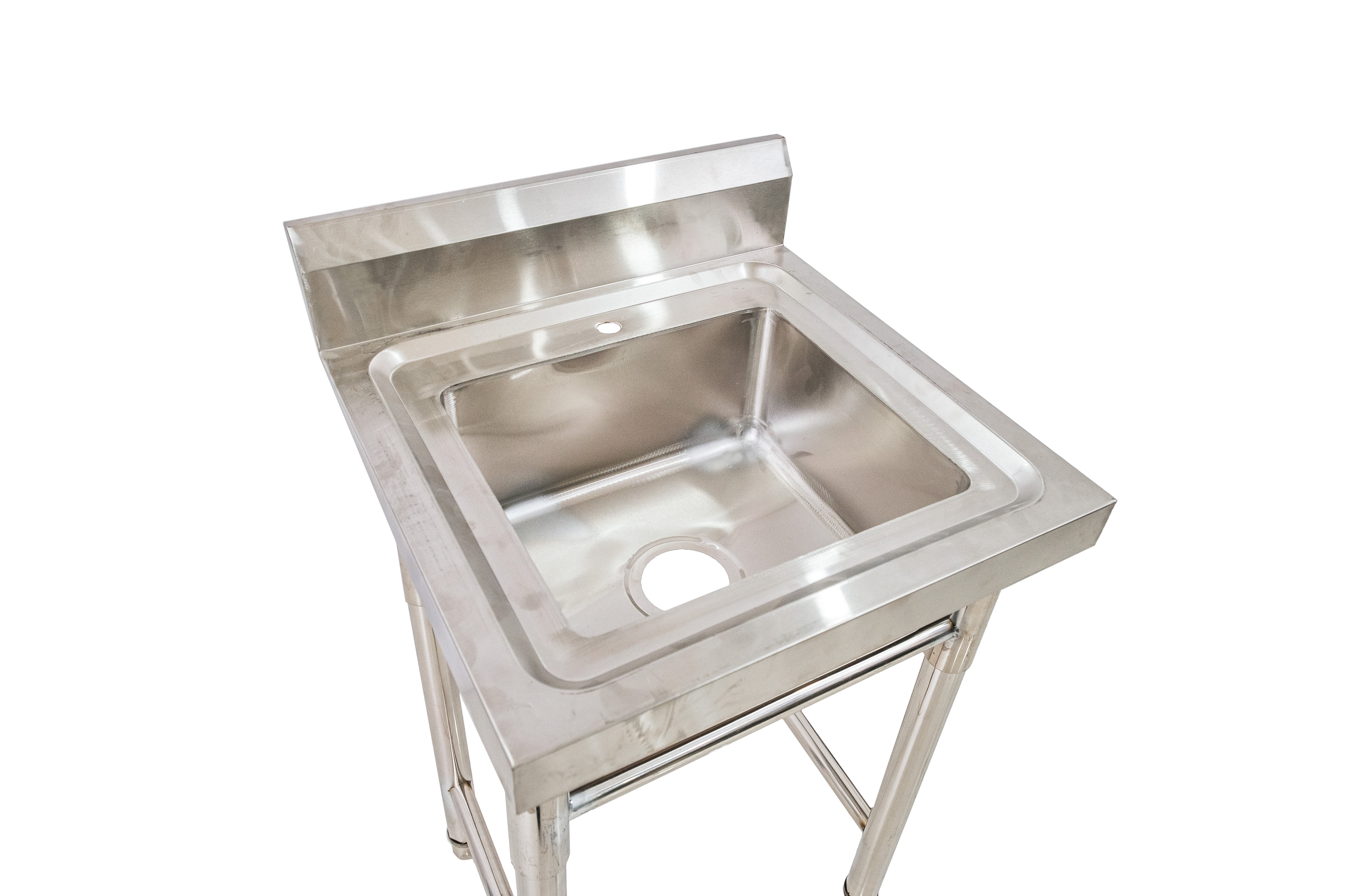 One Basin Commercial Kitchen Sink