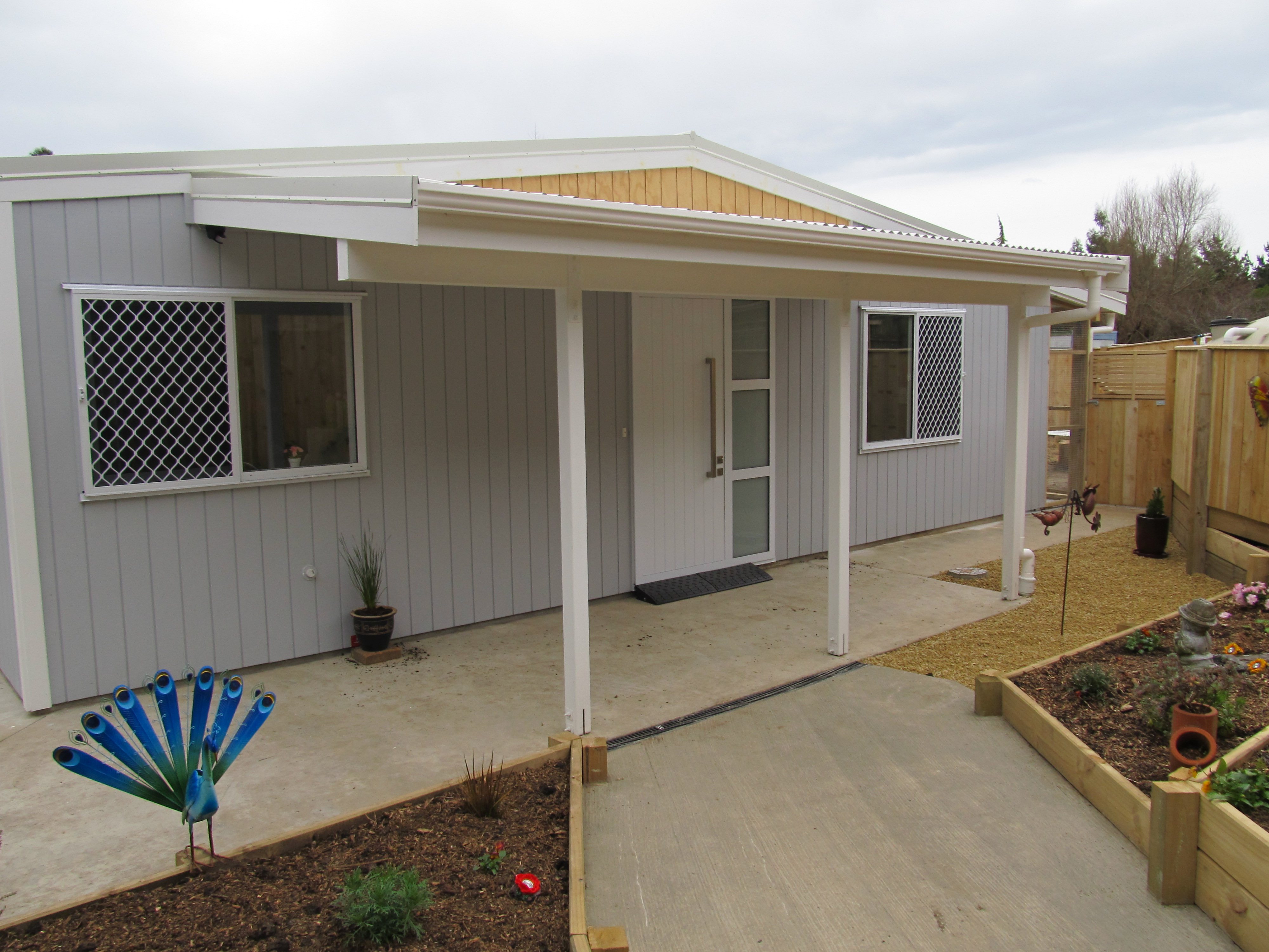 Front of cattery