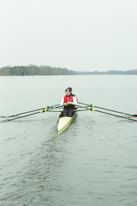 Jonas Ningelsen trainiert für Olympia