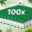 Thumbnail: 100x CBD Tinctures 3000mg (30ml)