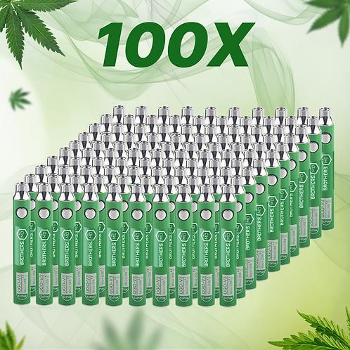 100x Vape Batteries 900mAh