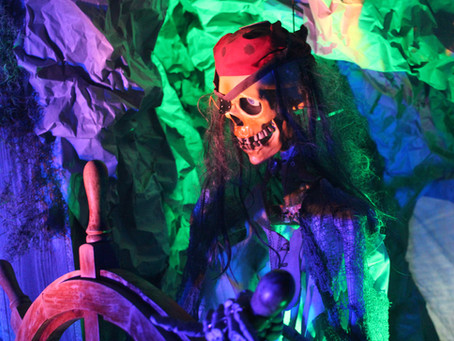 A Pirates of the Caribbean Halloween