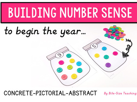 Building Number Sense to Begin the Year