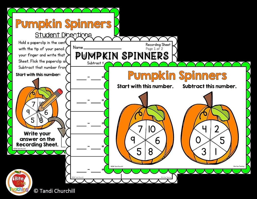 Halloween Spinners
