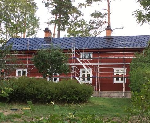 Projekt, Integrerade Solceller i Åkers Styckebruk