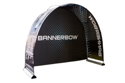 Messestand Backdrop Bannerbow