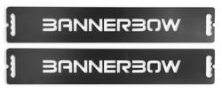 Outbanner Stahlfuß mit Logo