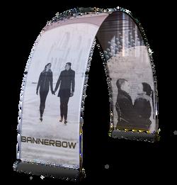 Bannerbow Black Banneraufsteller