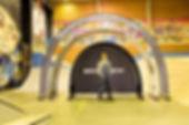 Eventbåge tunnel med Backdrop