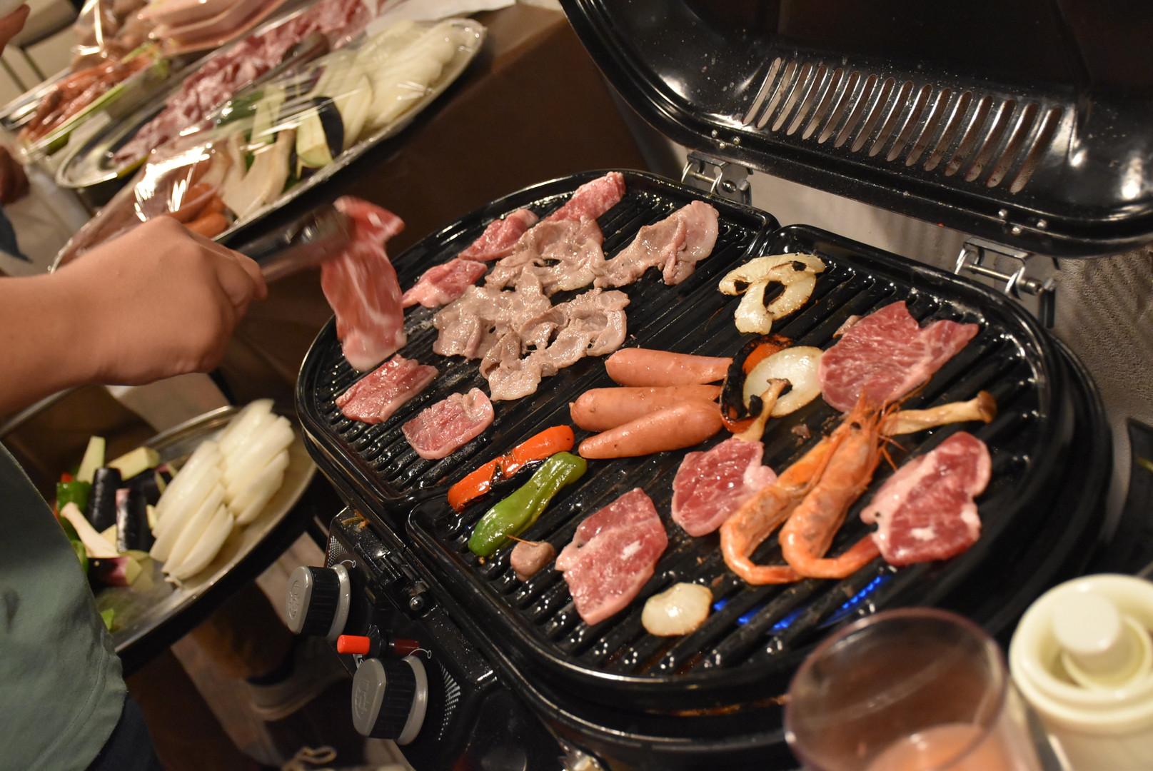 渋谷屋内BBQ