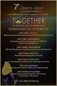7 Days  - Diversity EVENT POSTER KelditS