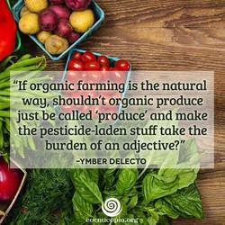 36 if organic farming