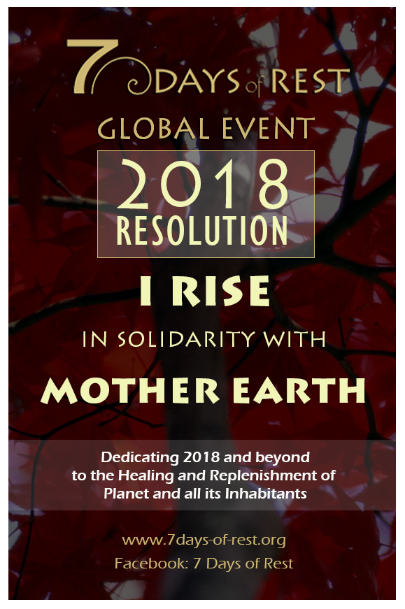 rise in solidarity with mother earth resolution