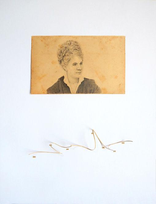 Marietta de Veintemilla dibujo Ricardo Coello Gilbert Arte contemporáneo Ecuador Contemporary Art