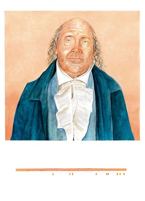 Acuarela Jeremy Bentham Ricardo Coello Gilbert Arte contemporáneo Ecuador Latinoamérica