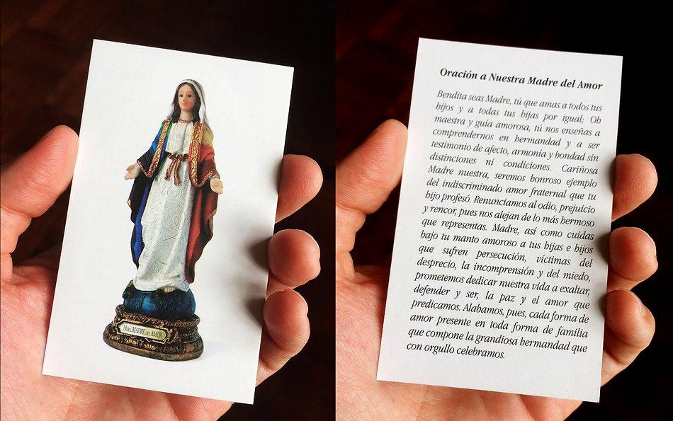 Nuestra Madre del Amor oración Ricardo Coello Gilbert Arte contemporáneo Ecuador Contemporary Art