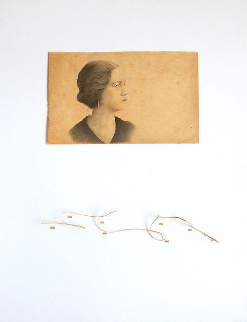 Matilde Hidalgo Navarro dibujo Ricardo Coello Gilbert Arte contemporáneo Ecuador Contemporary Art