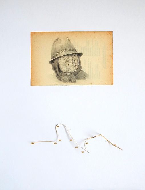 Tránsito Amaguaña dibujo Ricardo Coello Gilbert Arte contemporáneo Ecuador Contemporary Art