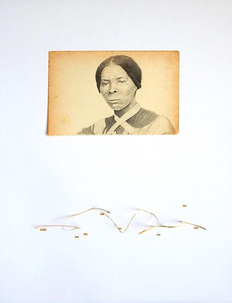 Dibujo Harriet Tubman por Ricardo Coello Gilbert Arte contemporáneo Ecuador Latinoamérica