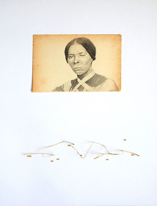 Harriet Tubman dibujo Ricardo Coello Gilbert Arte contemporáneo Ecuador Contemporary Art