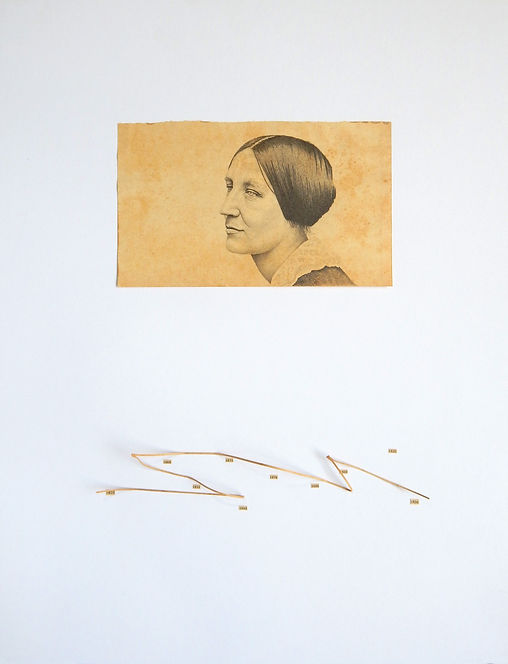 Susan B Anthony dibujo Ricardo Coello Gilbert Arte contemporáneo Ecuador Contemporary Art