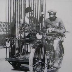 Harley Davidson Mobile Black Maria Cage, 1920