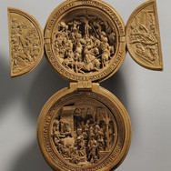 This 500-year-old boxwood miniature from the 16th century was created in the Netherlands