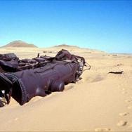 An Ottoman supply train still lays where it was ambushed by Lawrence of Arabia on the Hejaz railway during World War I.