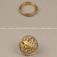 This amazing 16th Century ring unfolds into an astronomical sphere.