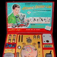 Marketed as a toy for kids, U-238 Atomic Energy Labs came with three different types of live uranium ore and a Geiger counter.