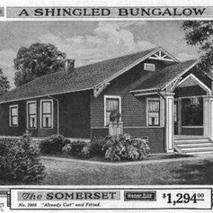 In 1918, you could buy a home from a Sears catalog for under $1,300
