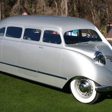 The 1936 Stout Scarab is one of the first minivans.
