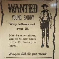 Job Vacancy Advert 1900