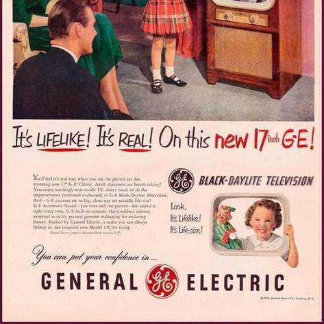 General Electric television ad from 1951