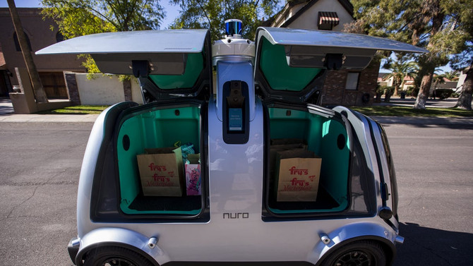 Beware the driverless delivery van!