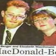 Mr Berger marries Miss MacDonald (hold the pickles!)