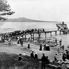 Takapuna Beach 1906