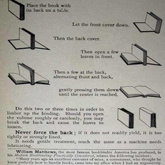 Instructions on How to Open a New Book.