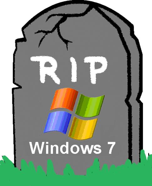 Farewell Windows 7