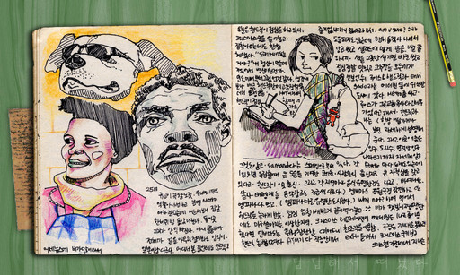 My daily journal at India