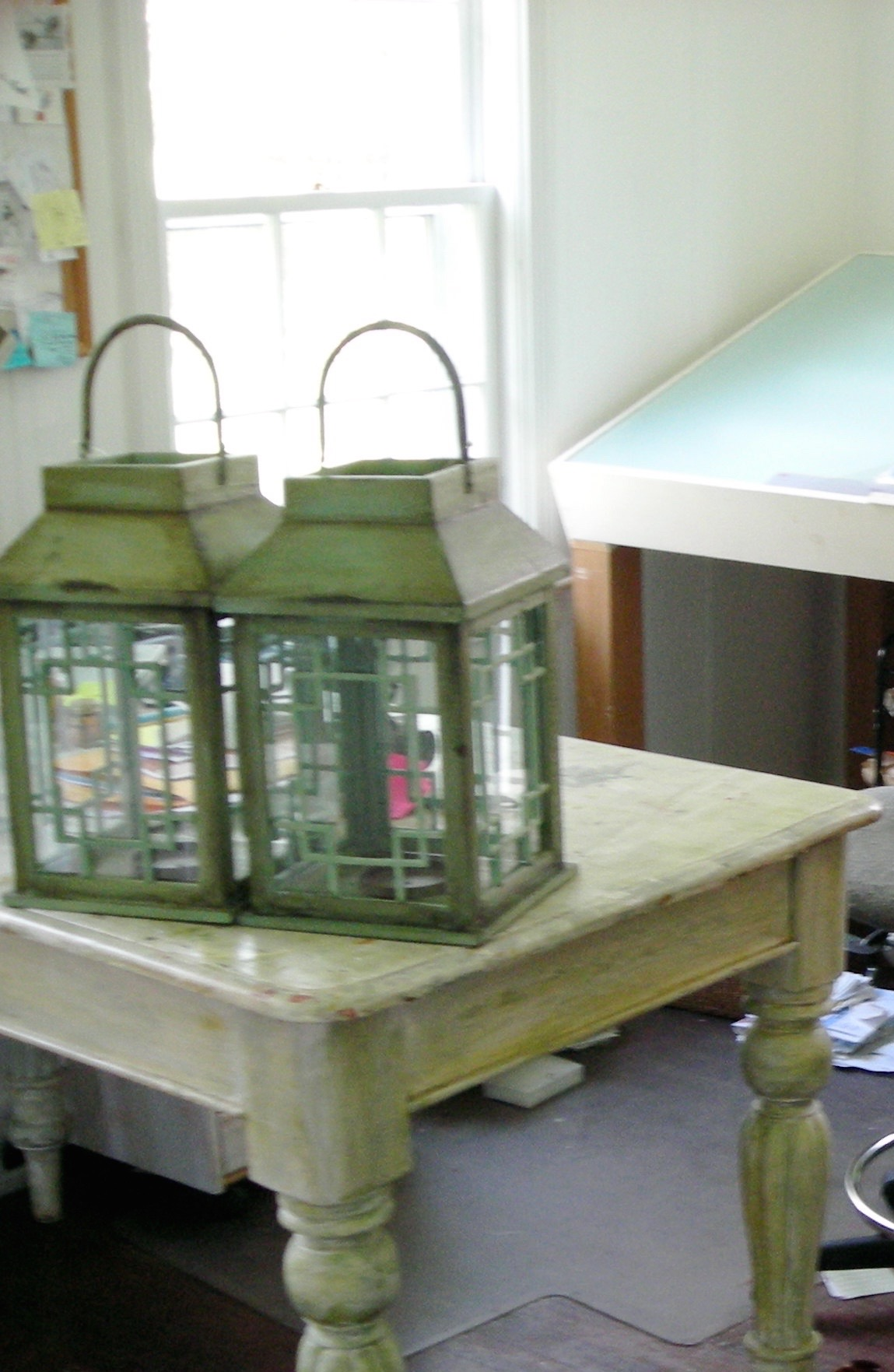 Lanterns in my studio