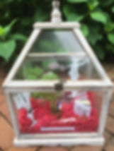 Bastille Day Glass House Miniature Garde
