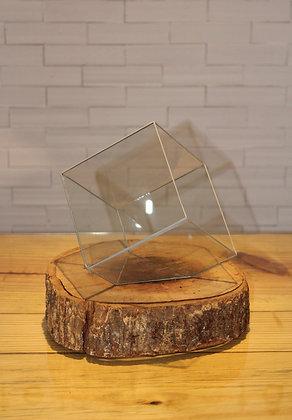 Cachepot de Vidro Cubo
